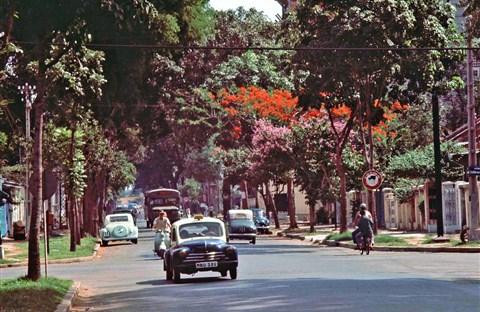 60 tấm ảnh màu đẹp nhất của đường phố Saigon thập niên 1960-1970