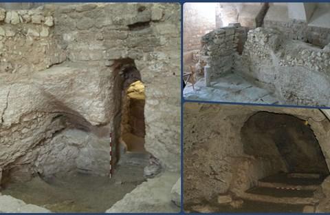 Khai quật ngôi nhà nằm dưới một tu viện ở Nazareth được cho là nhà của Chúa Giêsu