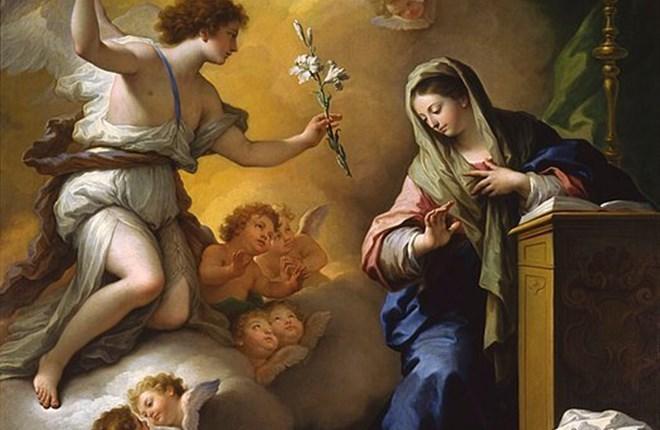 Đức Mẹ và ý nghĩa biểu tượng của hoa Bách hợp trong hội họa cổ điển