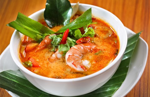 Tom yum - món ăn nổi tiếng nhất Thái Lan