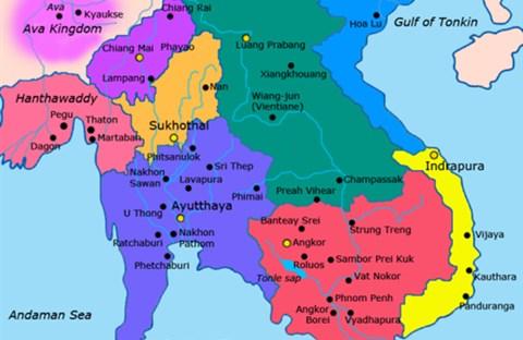 Lịch sử Lào: vương quốc Lang Xang
