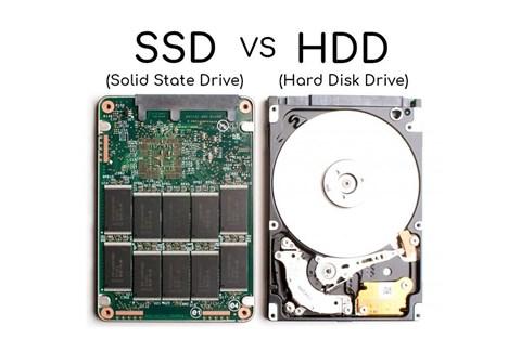 Ổ cứng SSD và HDD nên chọn ổ nào
