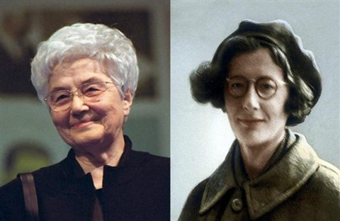 """Chiara Lubich và Simone Weil: """"Hai phụ nữ đánh dấu thế kỷ XX"""""""