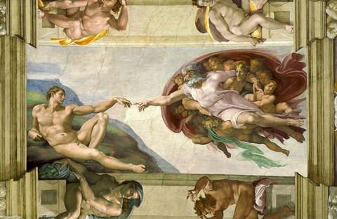 """Nhà nguyện Sistine và bức """"Chúa Trời tạo ra Adam"""""""