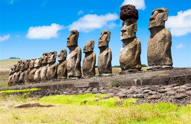 Khám phá nguồn gốc bí ẩn những bức tượng đá trên Đảo Phục sinh