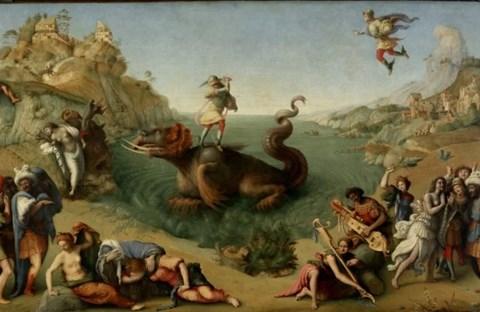 Người anh hùng Perseus giết thủy quái