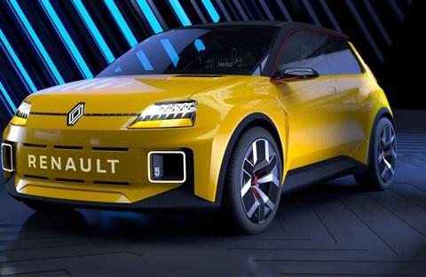 Renault đưa lại kiểu xe cũ, đổi máy xăng thành điện, cho thị trường tương lai