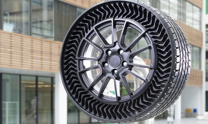 Michelin ra mắt lốp xe không bơm hơi - 1