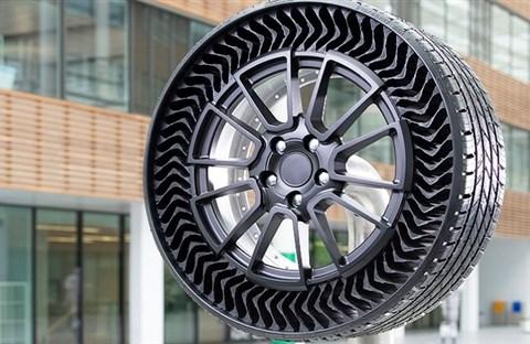 Michelin ra mắt lốp xe không bơm hơi