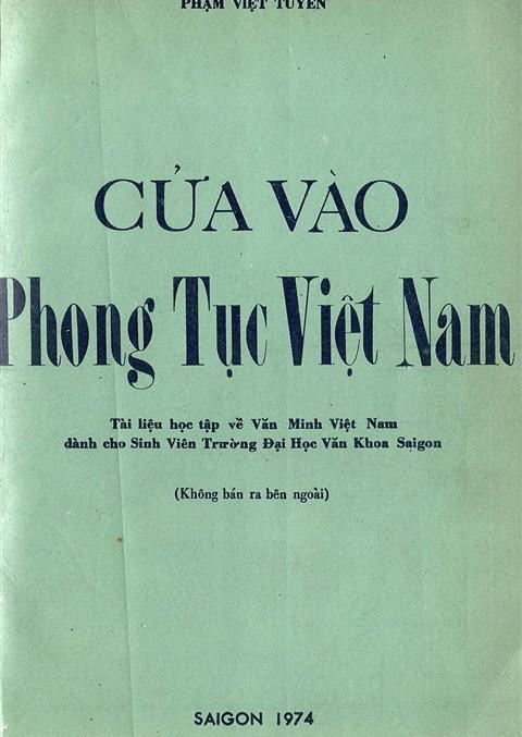 Cửa vào phong tục Việt Nam