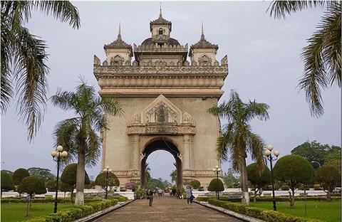 Vientiane thủ đô nước Lào