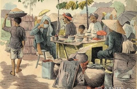 Miền Nam qua ký họa xưa