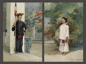 1885-vietnamese-civil-and-military-servants-in-indochina-by-gaston-roullet-1847-1925_15821386478_o