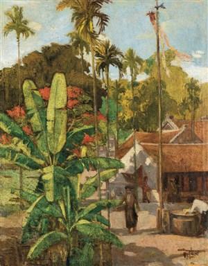 ca-1925-30-cy-chui-ti-mt-lng-bc-k-the-banana-tree-of-a-village-in-tonkin_15822733529_o