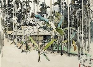 cnh-mt-ngi-lng-gn-hanoi-view-of-a-village-near-hanoi-by-pham-hau-ca-1964_16008721655_o
