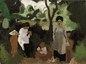 femmes-et-enfants-inguimberty-joseph-1896-1971-oil-on-canvas-1934-89-x-116-cm_15399089903_o