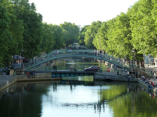 Khám phá vẻ đẹp Paris xưa từ dòng kênh Saint-Martin - 6