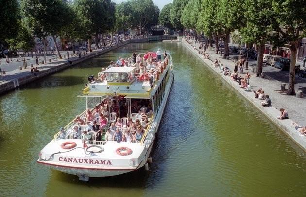 Khám phá vẻ đẹp Paris xưa từ dòng kênh Saint-Martin - 3