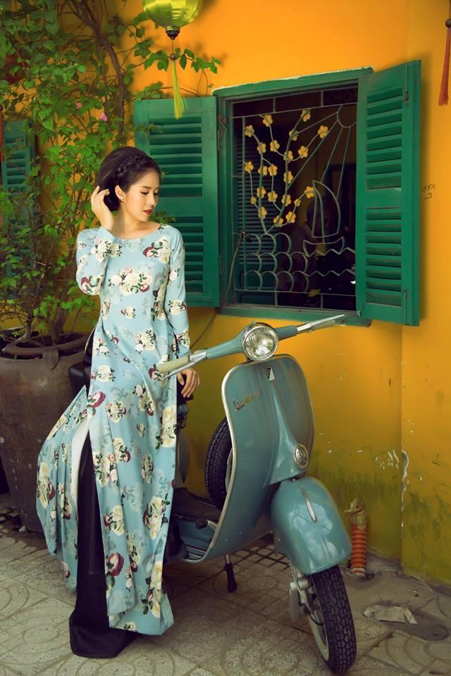 Bộ ảnh áo dài Người Việt Nam hoài niệm Sài Gòn Xưa 2018 - 12