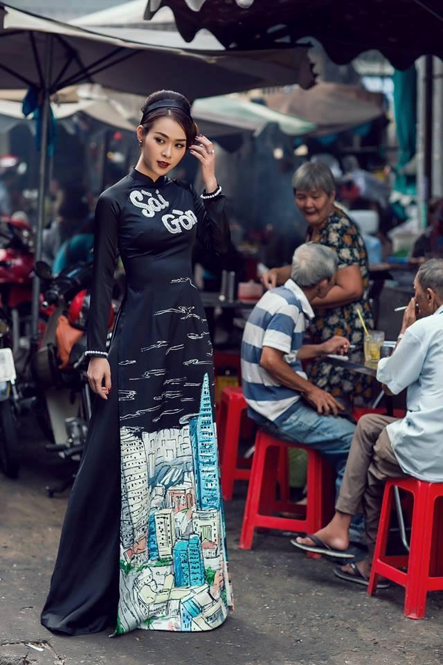 Bộ ảnh áo dài Người Việt Nam hoài niệm Sài Gòn Xưa 2018 - 2
