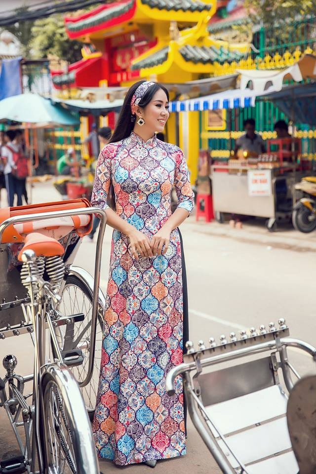 Bộ ảnh áo dài Người Việt Nam hoài niệm Sài Gòn Xưa 2018 - 4