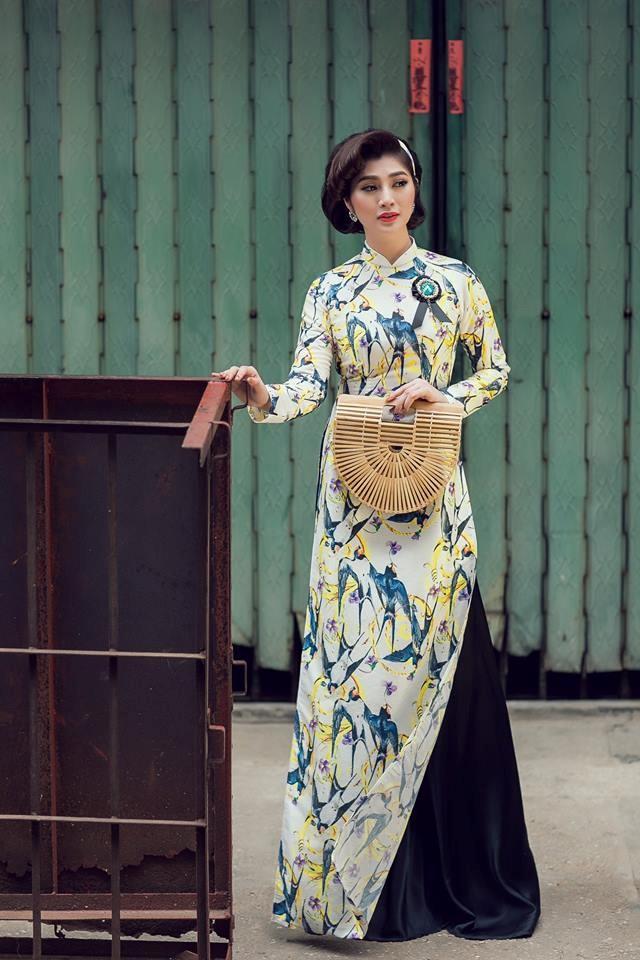 Bộ ảnh áo dài Người Việt Nam hoài niệm Sài Gòn Xưa 2018 - 7