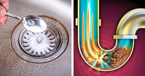 Thông tắc bồn rửa bát nhanh và hiệu  quả - 1