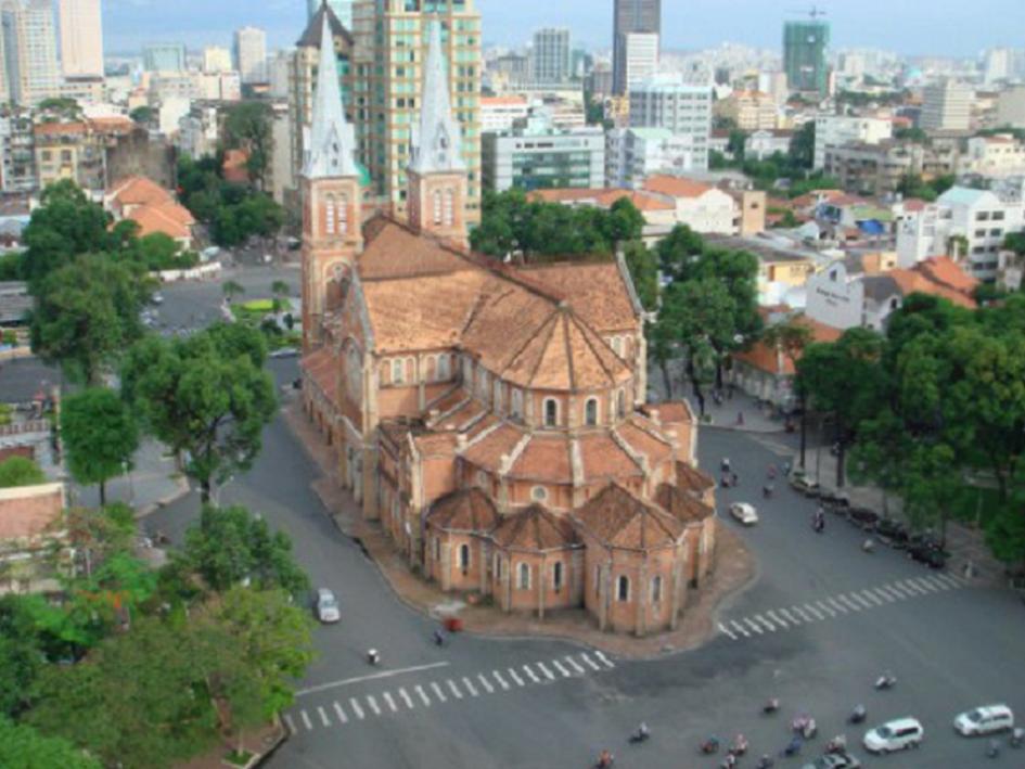 Nhà Thờ Đức Bà, Sài Gòn - 1