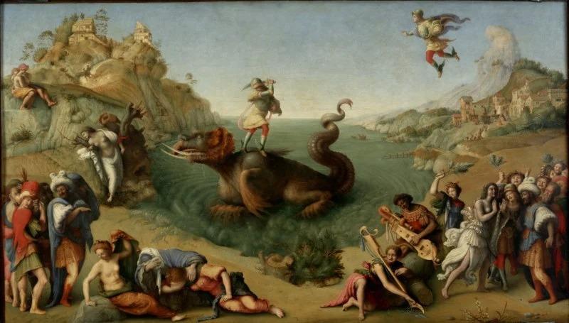 Người anh hùng Perseus giết thủy quái - 1