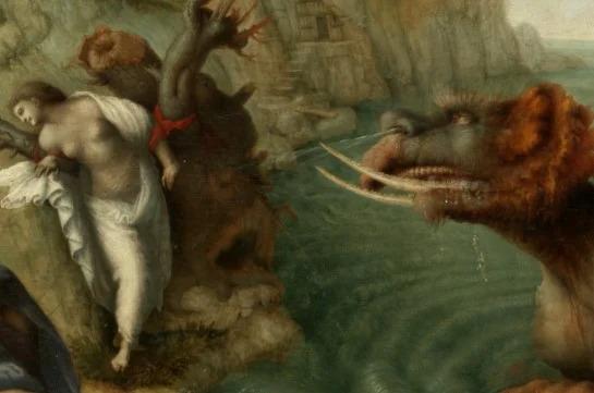 Người anh hùng Perseus giết thủy quái - 3