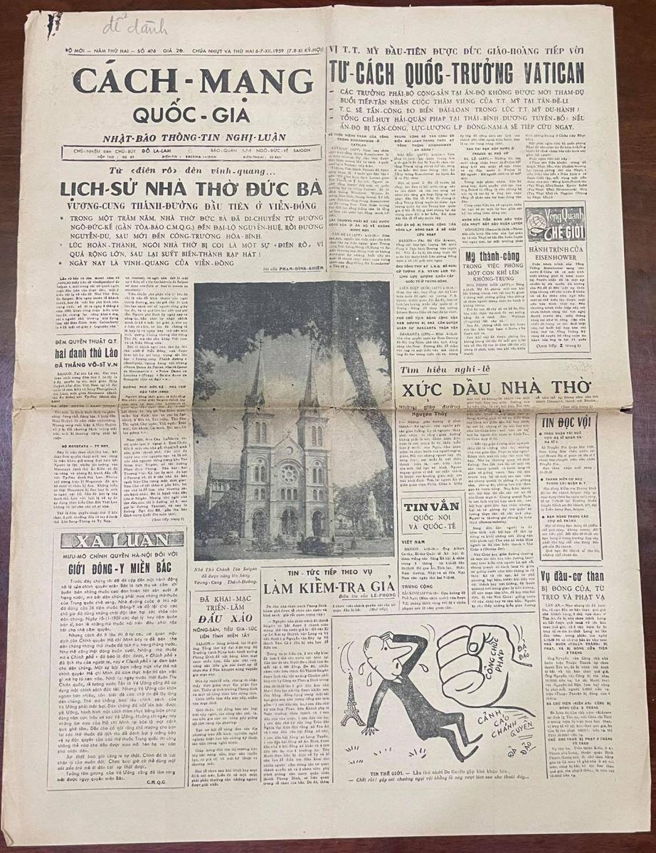 Nhà thờ Đức Bà Sài Gòn qua một bài báo cách đây hơn 60 năm - 1
