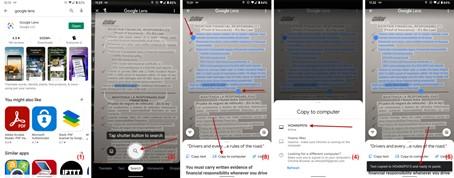 Dùng Google Lens của điện thoại để chuyển văn bản trên giấy sang máy tính - 1