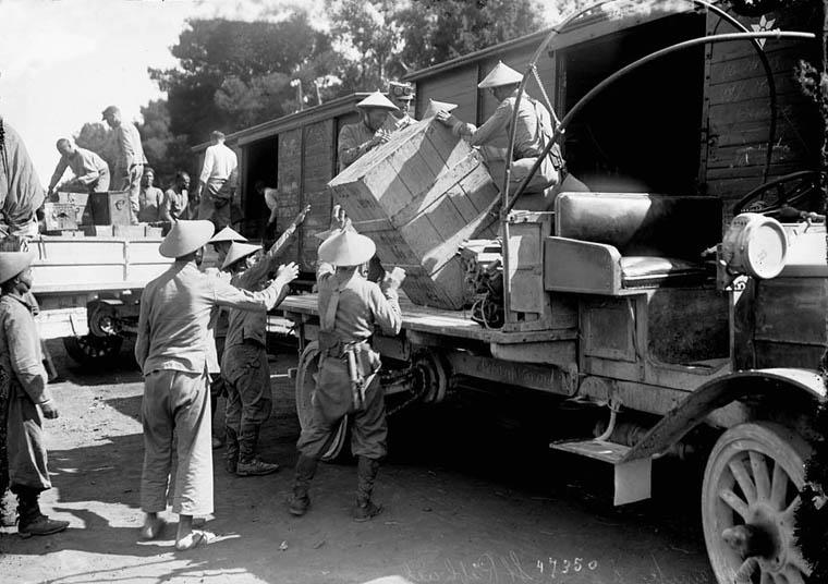 Soldats vietnamiens. Lính viễn chinh VN - 6