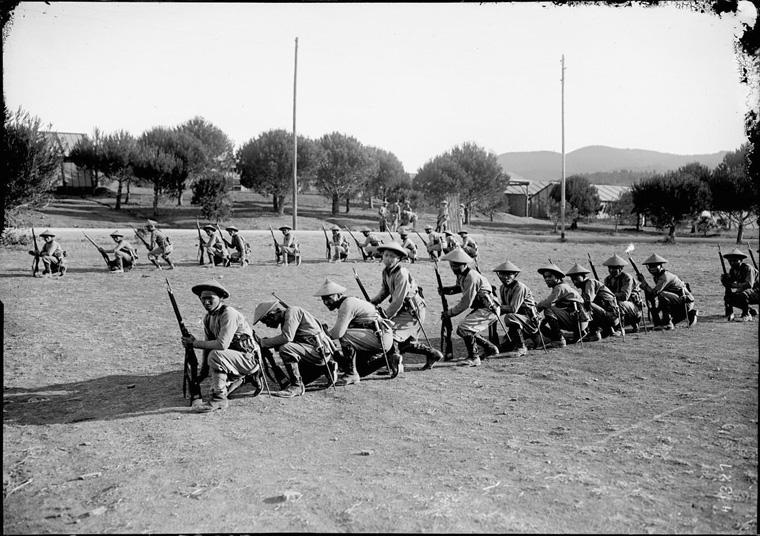 Soldats vietnamiens. Lính viễn chinh VN - 22