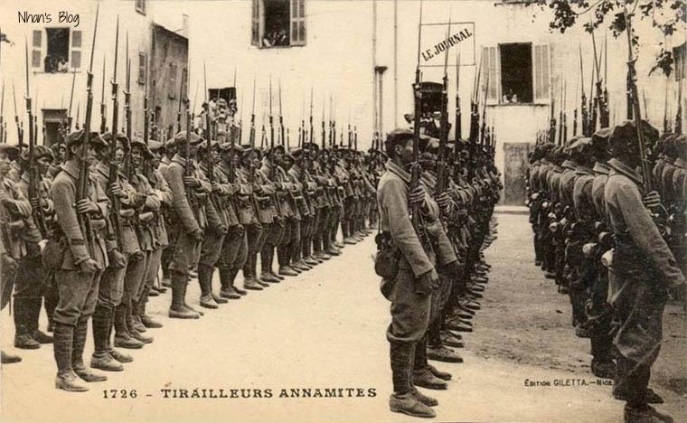Soldats vietnamiens. Lính viễn chinh VN - 39
