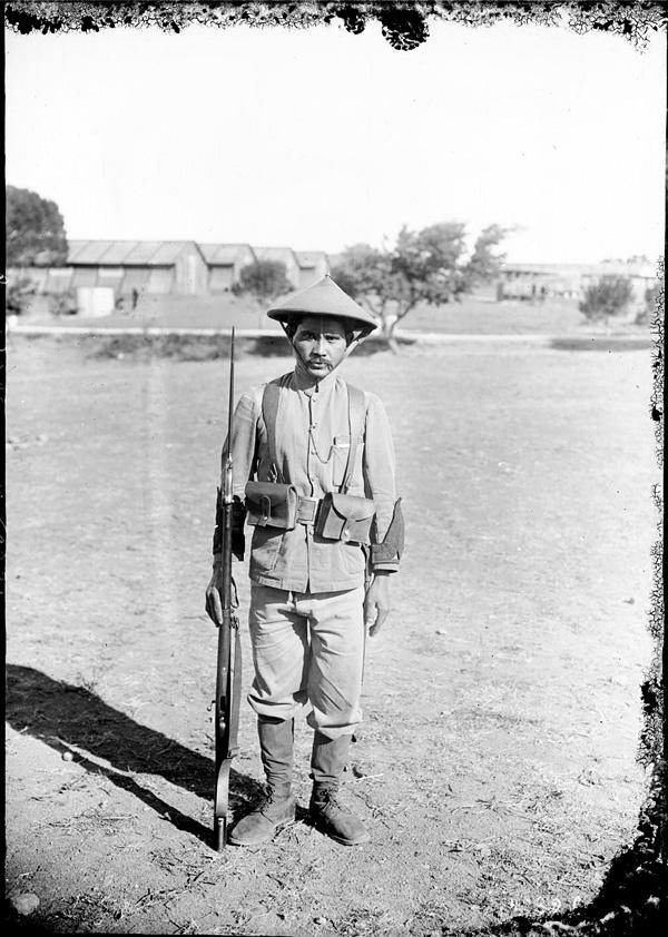 Soldats vietnamiens. Lính viễn chinh VN - 19