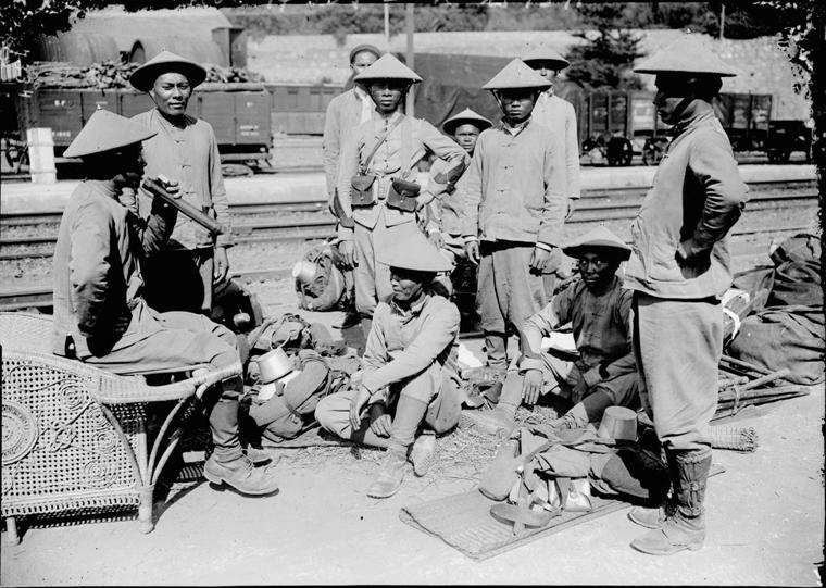 Soldats vietnamiens. Lính viễn chinh VN - 4
