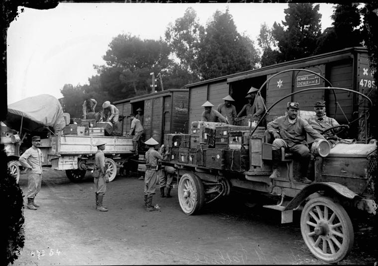 Soldats vietnamiens. Lính viễn chinh VN - 7