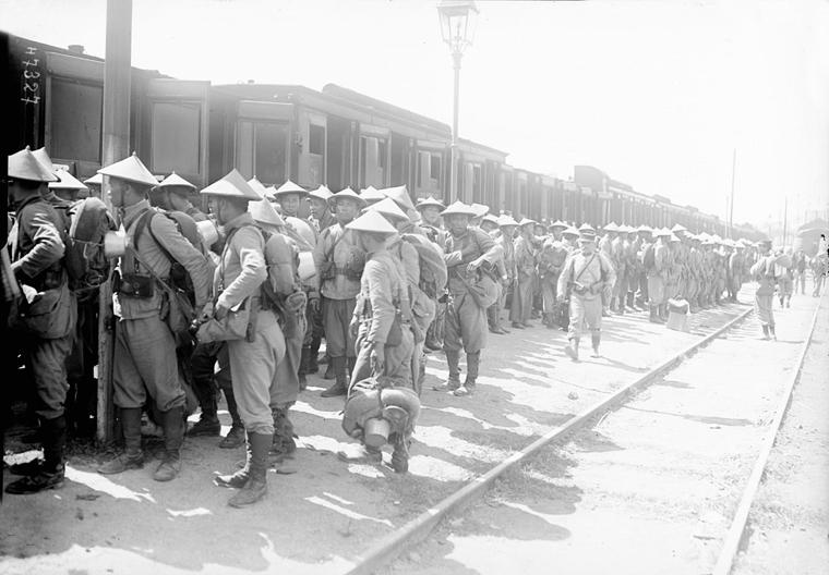 Soldats vietnamiens. Lính viễn chinh VN - 3