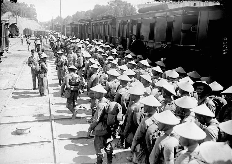 Soldats vietnamiens. Lính viễn chinh VN - 2
