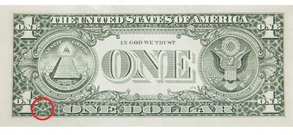 Giải mã bí ẩn các biểu tượng trên tờ 1 đôla Mỹ - 7