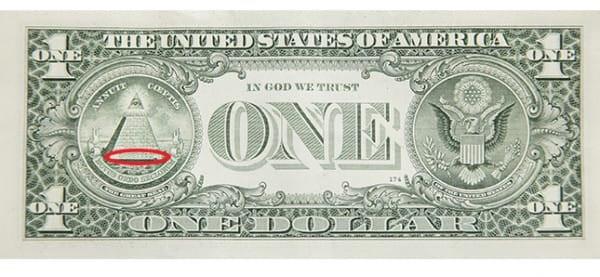 Giải mã bí ẩn các biểu tượng trên tờ 1 đôla Mỹ - 5