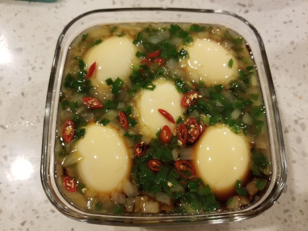 Trứng ngâm nước tương – món ngon dễ làm - 6