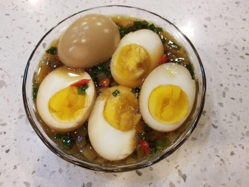 Trứng ngâm nước tương – món ngon dễ làm - 1