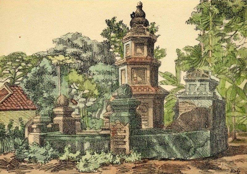 Chiêm ngưỡng bộ tranh vẽ cuộc sống người Việt vào thập niên 1930 - 20