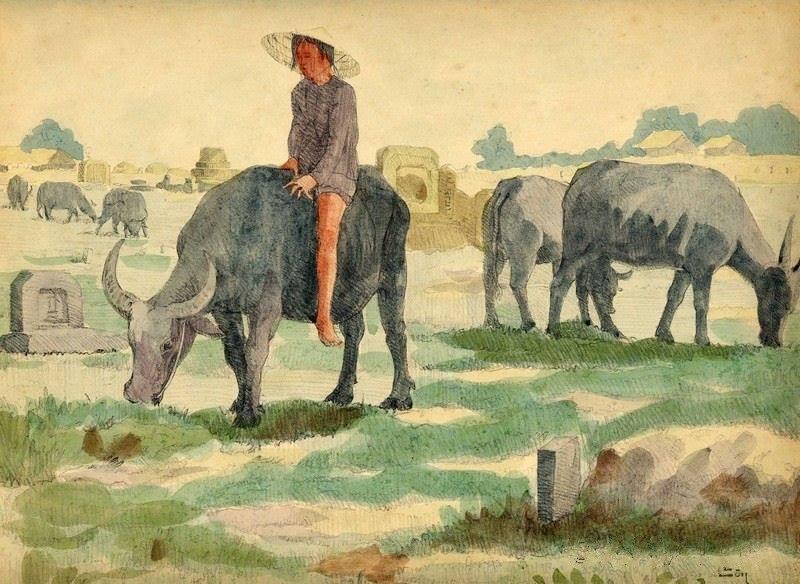 Chiêm ngưỡng bộ tranh vẽ cuộc sống người Việt vào thập niên 1930 - 19