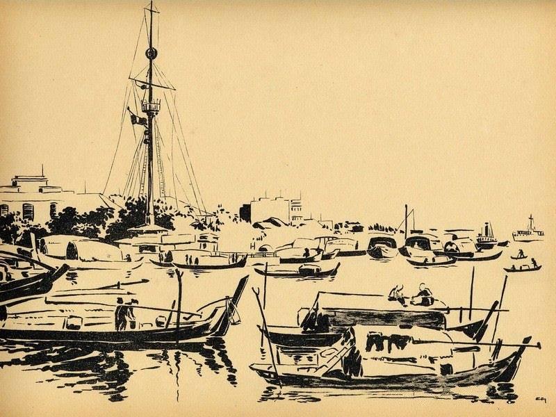 Chiêm ngưỡng bộ tranh vẽ cuộc sống người Việt vào thập niên 1930 - 14