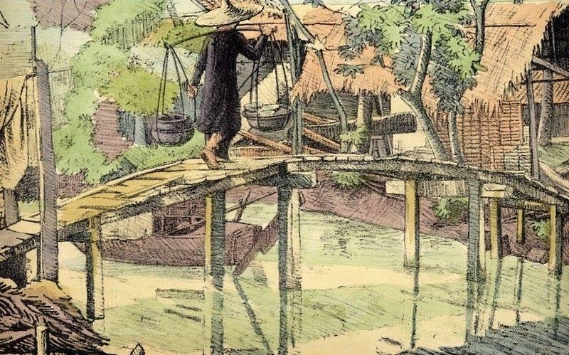 Chiêm ngưỡng bộ tranh vẽ cuộc sống người Việt vào thập niên 1930 - 27