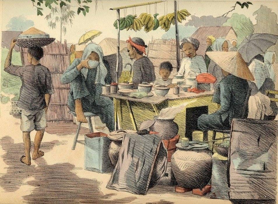 Chiêm ngưỡng bộ tranh vẽ cuộc sống người Việt vào thập niên 1930 - 48