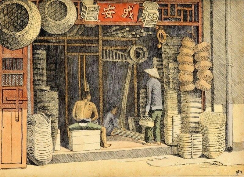 Chiêm ngưỡng bộ tranh vẽ cuộc sống người Việt vào thập niên 1930 - 41